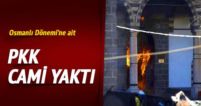 PKK cami yaktı!