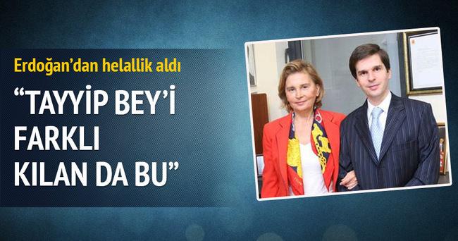 Mehmet Ali Ilıcak Erdoğan'dan helallik aldı