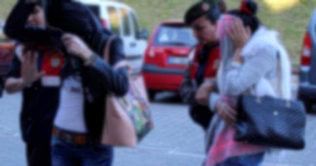 Fuhuşa zorlanan yabancı uyruklu 2 kadın kurtarıldı