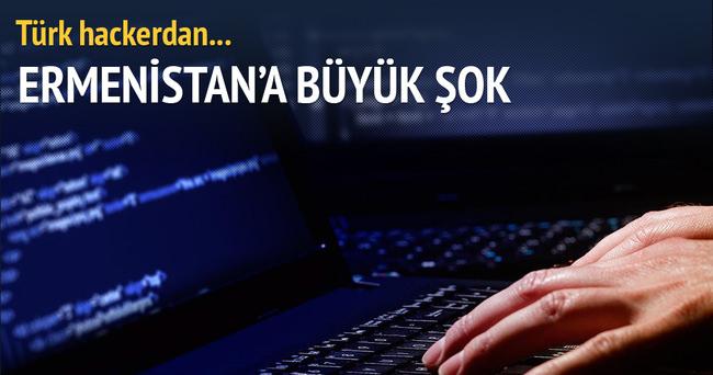 Türk hackerdan Ermenistan'a mesaj!