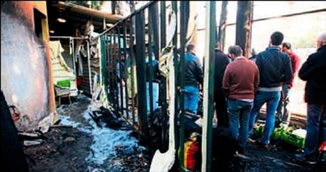 İzmir Fransız Kültür Merkezi'nde yangın
