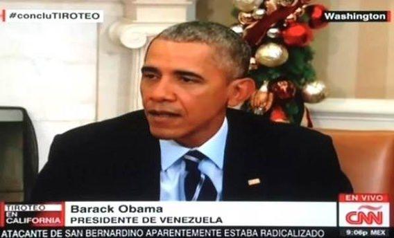 CNN'den skandal Obama hatası