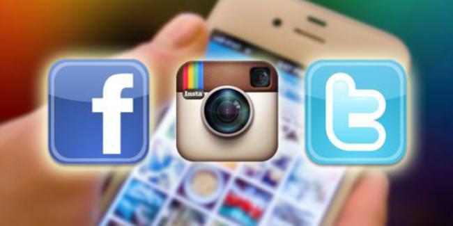 Facebook, Twitter, Instagram...