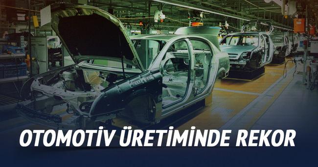 Otomotiv üretiminde rekor