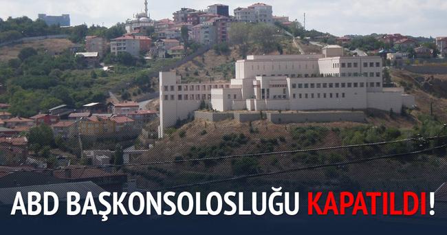 ABD İstanbul Konsolosluğu güvenlik nedeniyle kapatıldı