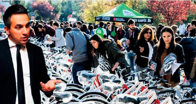 Cumhurbaşkanı startı verdi: 1 milyon bisiklet dağıtılacak