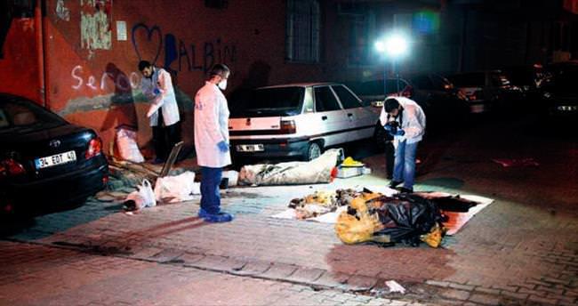 Çöp çuvalında ceset bulundu
