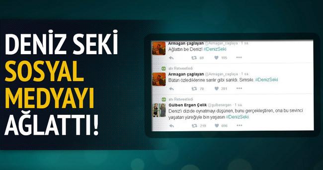 Deniz Seki sosyal medyayı ağlattı