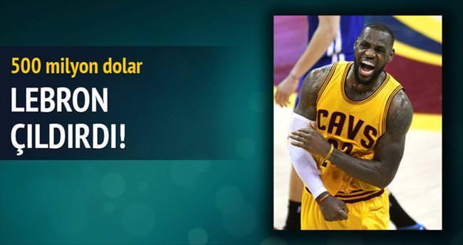 Yok artık LeBron James 500 milyon dolar