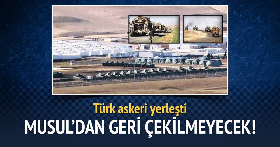 Türkiye, Musul'dan geri çekilmeyecek
