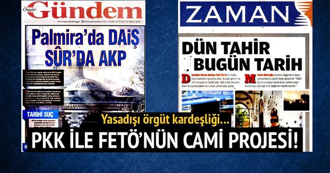 FETÖ İle PKK'nın cami projesi!