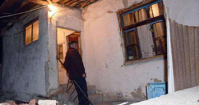 Yaşlı kadın soba kurbanı