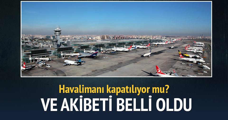Nihat Özdemir: Atatürk Havalimanı kapatılacak