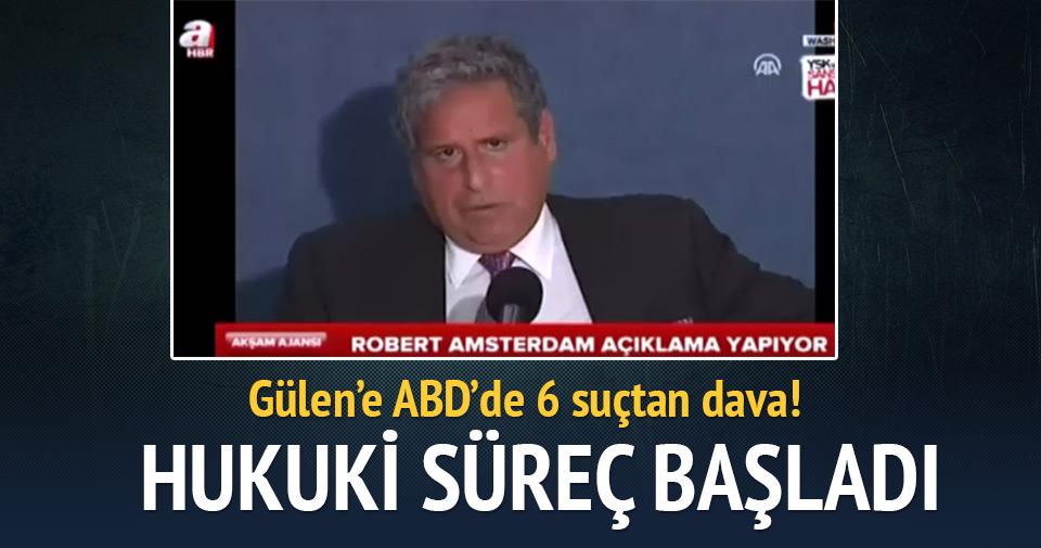 Gülen'e ABD'de 6 suçtan dava açıldı