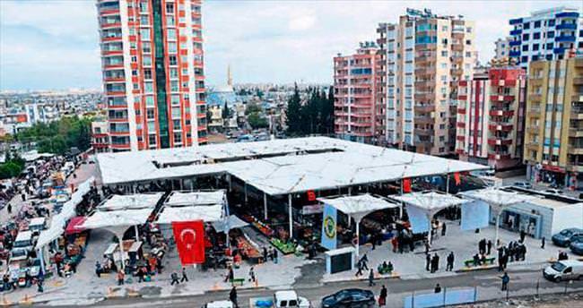 Kapalı semt pazarı her etkinliğe açık