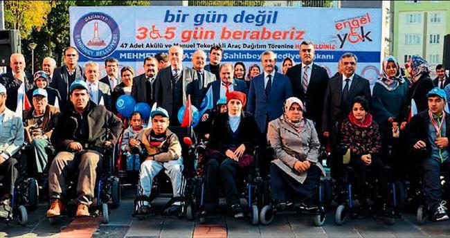 Şahinbey Belediyesi engelleri aşıyor
