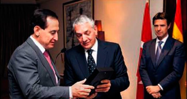 Türk - İspanyol Resmi Sanayi ve Ticaret Odası'ndan Mapfre'ye ödül