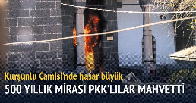 500 yıllık mirası PKK'lılar mahvetti