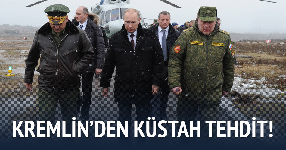 Putin'den küstah tehdit