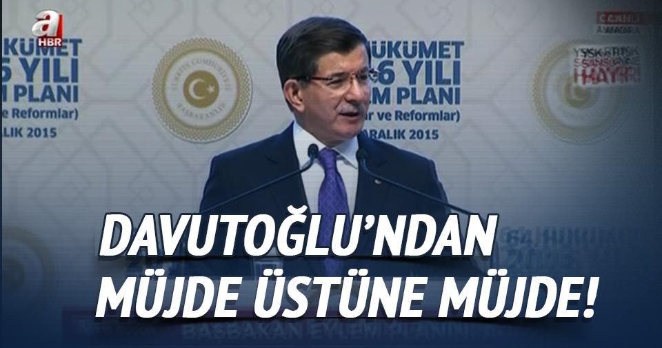 Başbakan Davutoğlu Eylem Planını açıkladı