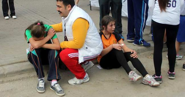 Zonguldak'ta ağlatan ve bayıltan koşu
