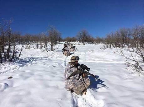 Siirt'te -18 derecede dev operasyon