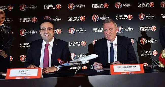 THY, EURO 2016'nın resmi sponsoru oldu