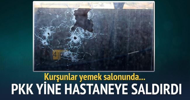 PKK'dan Diyarbakır askeri hastanesine saldırı