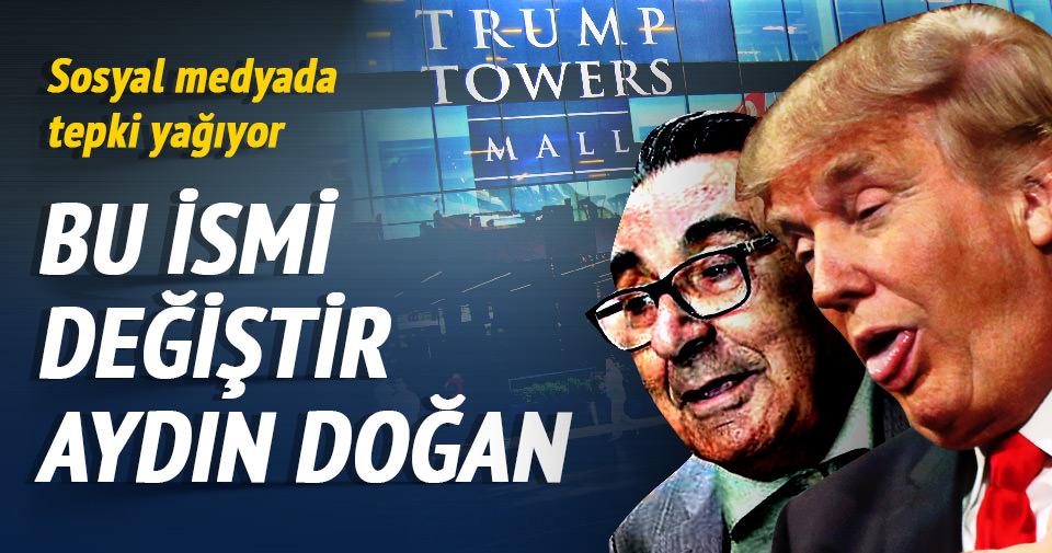 Aydın Doğan'a Trump tepkisi!