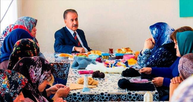 Başkan Şahin BELMEK'i ziyaret etti