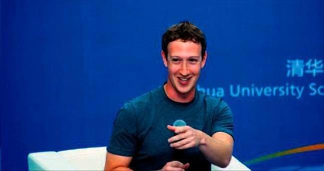 Zuckerberg'i kutladı