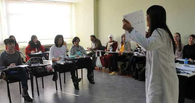 Yabancı gelinler Türk kültürünü öğreniyor
