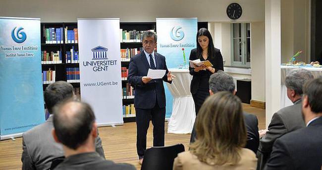 Belçika'da Türkiye kütüphanesi açıldı