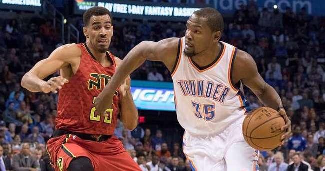 Durant, Thunder'ı galibiyete taşıdı