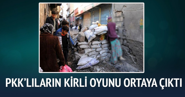PKK'lı teröristlerin oyunu ortaya çıktı