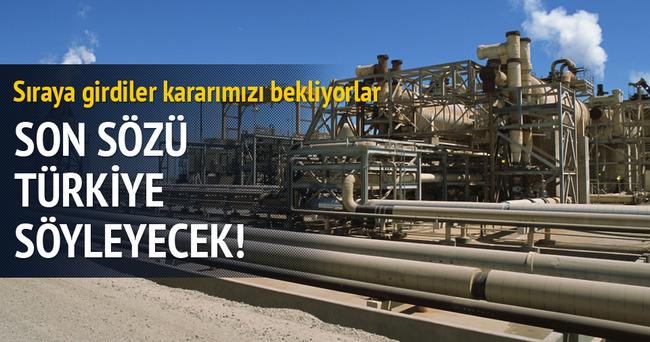 Doğalgazda söz Türkiye'nin