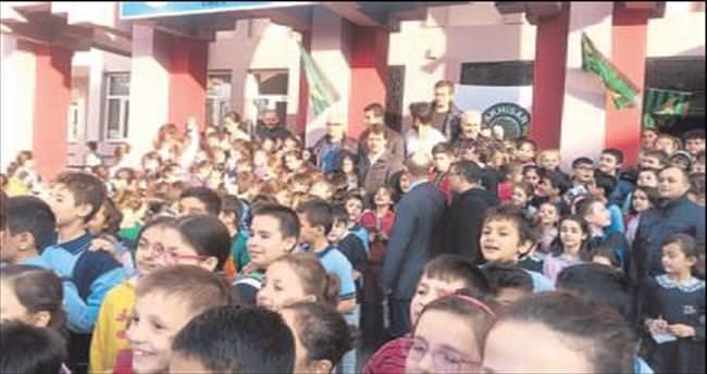 Akhisar'dan okul ziyareti
