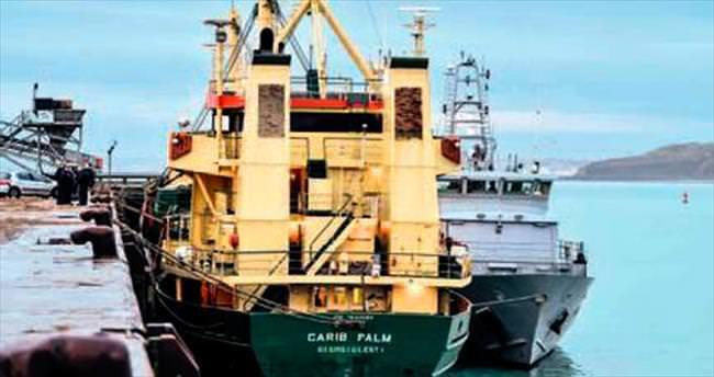 Kargo gemisinde 100 milyon euroluk kokain