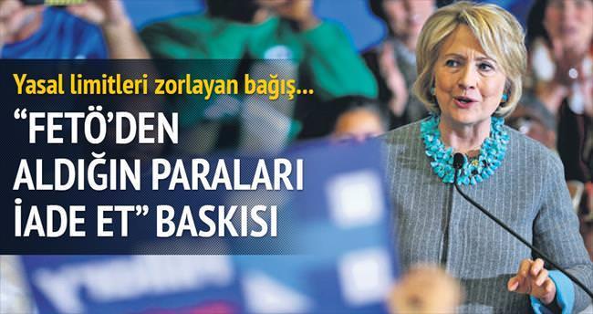 Clinton'a giden Gülen paraları için kampanya
