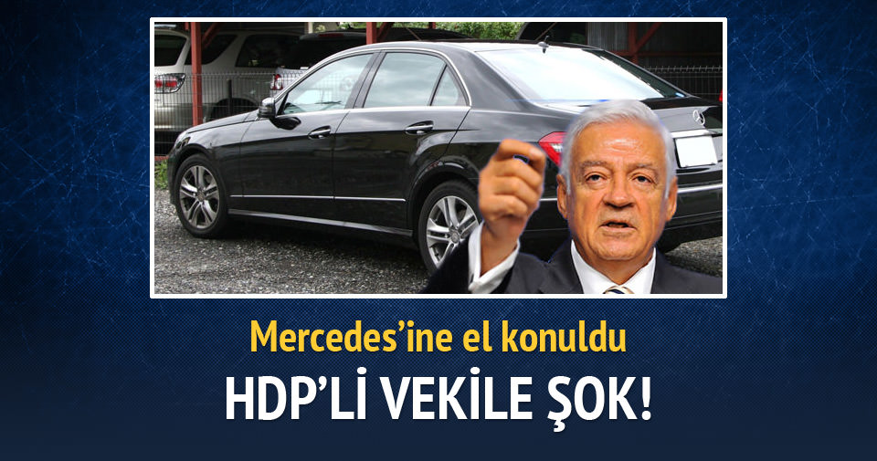 HDP'li milletvekiline Mercedes şoku