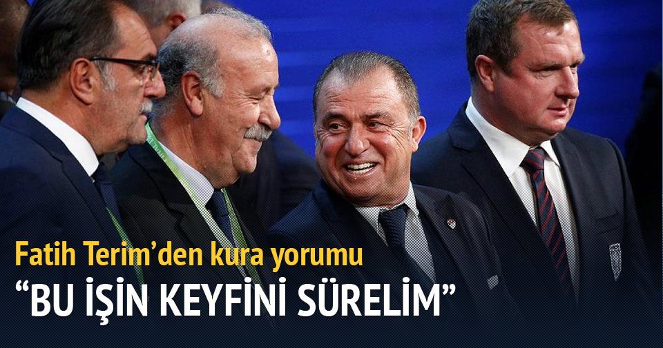Fatih Terim'den kura yorumu