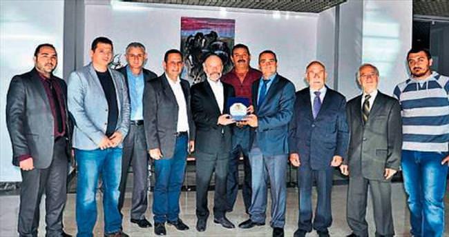 Baf Türk Birliği'nden Dr. Günsel'e ziyaret