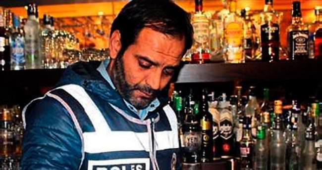 İzmir'de 4 işletmede sahte içki bulundu