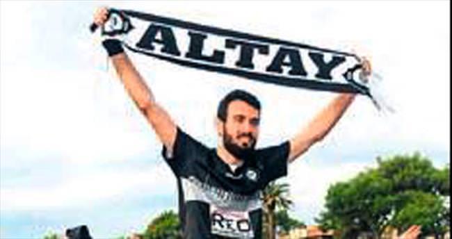 Altay Arsin'i ağırlıyor