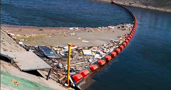 50 ton atık denize gitmedi