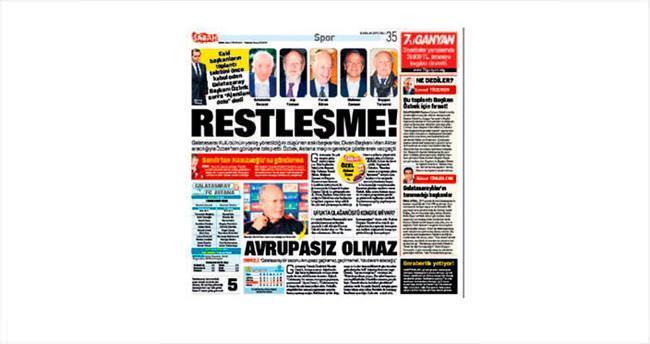 Başkanlar krizi tatlıya bağlandı!