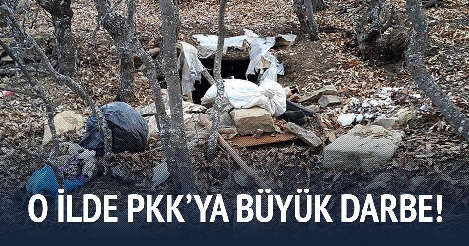 Bingöl'de terör örgütü PKK'ya ait 26 sığınak imha edildi