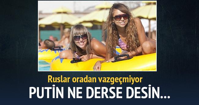 Ruslar Marmaris'ten vazgeçmiyor