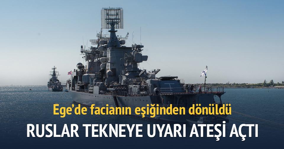 Ruslar Türk teknesine ateş açtı!
