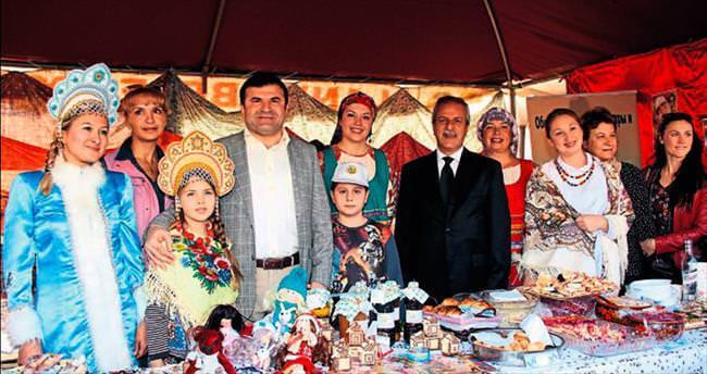 Alanya'da Noel Pazarı başladı